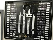 Collingwood Magpies Champions Hand Signed Framed Afl Jumper Buckley Swan Daicos