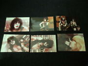 Kiss Six Photo Lot Incl. One Signed Photo By Eric Carr, Memorabilia Stanley Gene