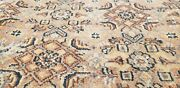 Masterpiece Antique Cr1930-1949s Muted Colors Wool Pile Armenian Oushak Rug
