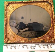 Ambrotype Victorian Death Post Mortem Child Sixth Plate