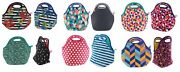 2 Pack Built Ny Gourmet Getaway Lunch Tote Reusable Insulated Stretchy Neoprene
