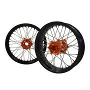 3.017/4.2517 Motocycle Wheels Rim Set Fit Ktm Exc Sxf