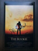 John Lee Hancock Signed 12x18 Photo Poster The Rookie Director Proof 1