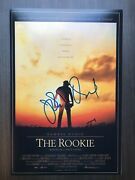 John Lee Hancock Signed 12x18 Photo Poster The Rookie Director Proof 2