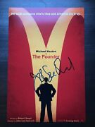 John Lee Hancock Signed 12x18 Photo Poster The Founder Proof 1