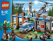 Lego City Town 4440 Mountain Forest Police Station Bear Tree Xmas Present Nisb