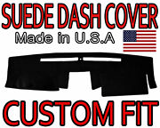 Fits 2007-2015 Nissan Xterra Suede Dash Cover Mat Dashboard Pad / Black