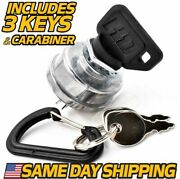 Ignition Switch Replaces Cub Cadet Lt2138 And 2166 Tractor W/ Umbrella Key Upgrade