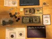Estate Sale 40 Coins Collection, Mint Sets, Gold, Silver, Pf70 Coin Lot 3