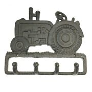 Cast Iron Tractor Wall Key Hook Farm Or Ranch House, Barn, Country Store