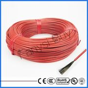 12k Carbon Fiber Electric Heating Cable Warm Floor Infrared Wire Teflon Jacket