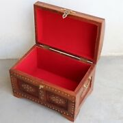 Wooden Box Treasure Pirate Chest Collectible Gift Item