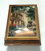 Ercolano Handcrafted Music Jewelry Box Tara's Theme W/ Southern Charm Picture