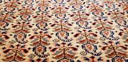 Exquisite Late 1915and039s Antique Natural Dyes Wool Pile Armenian Hereke Rug 8x11ft