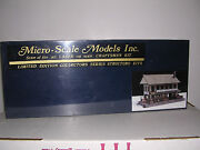 Micro-scale Models 136 G.s.byers Barrel And Keg Co. Building Kit H.o. 1/87