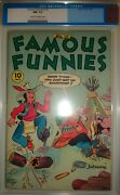 Cgc 9.2 Famous Funnies 139 Eastern Color 1946 Golden Age Comic Book Indian Teepe