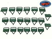 Ford Lincoln Mercury 3/4x3/4 Body Door Side Moulding Molding Trim Clips 20pc X