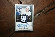 2013 - 14 Upper Deck The Cup Morgan Rielly Rookie Hockey Card Sick Patch