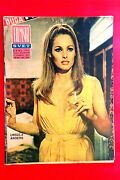 Ursula Andress Sean Connery Cover 1968 Poster Pamela Tiffin Exyu Movie Magazine