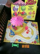 Vintage Rare Upsy Downsy Large Playlands Play Board And Merry Happy Go Round Set
