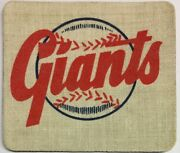 1950s Ny New York Giants 2.5x3 Inch Decal Baseball Post Cereal Mini Pennant
