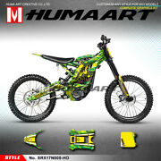 Full Wraps Mx Racing Graphic Decals For Sur-ron Light Bee X Electric Motorcycle