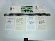 Vintage Lionel Lot Of Instruction Sheets And Instruction Books.6557,41 And More