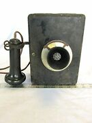 Antique Telephone With Bellbox Answer Only Stromberg Carlson 1155 Phone - Abyz
