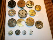 6031,collection Vintage Watch Movements And Faces