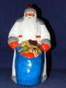 Russian Old Soviet Doll Vintage Toy Christmas New Year Santa Claus 1956