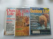 Vintage Outdoor Life Magazine 1976, 1981, And 1984