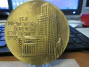 1996 And 2006 Nyse Commerce Bancorp Opening And Closing Bronze Medals 76mm Maco