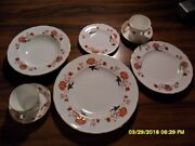 Royal Crown Derby Bali A1100 Ely/chelsea Shape - 5 Pc Place Setting - Plusandnbsp