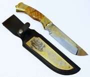 Gift Knife. Lover Of Beautiful Things, As Well As Hunting And Active Lifestyle.
