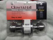 S. Parker Hardware 91522 Closet And Hall Stainless Steel Door Knob 2 3/8- 2 3/4
