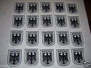 20 Bundeswehr Patches German Military Embroidered Cloth Patch New