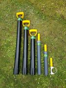 Gold Panning Kit Light Weight Dredge Crevice Suction Pumps And Support Handles