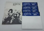 The Kristal Pc Game Floppy Disk Ibm Tandy 1000 True Compatible Computer