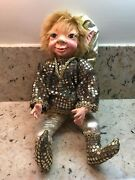 Rare Collectible Florence Maranuk Show Stoppers Elf Pixie Doll Cheers E 764a