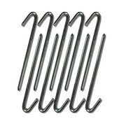 5/8 X 24 Steel J Hook Stakes Lot - Anchor Tents Inflatables Tarps And More