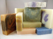 Your Choice -mix And Match 8 Handcrafted Soap Bars - Organic - Vegan - Natural