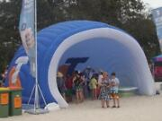Inflatable Commercial Wedding Event Beach Yard Patio Camping Dome Marquee Tent