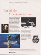 Us 719 37c Art Of The American Indian 3873 Usps Commemorative Stamp Panel