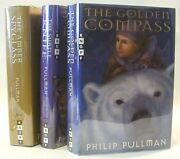 Philip Pullman / His Dark Materials Trilogy Signed The Golden Compass The Subtle