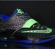 Nike Air Kd 7 Vii Electric Eel Basketball Sneaker Kevin Durant Athletic Trainers
