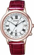 Citizen Xc Titania Line Happy Flight Series Cb1104-05a Womenand039s From Japan New