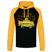 Officially Licensed The Beatles - Yellow Submarine Baseball Hoodie S-xxl Sizes
