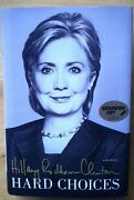 Psa/dna Authenticated Andmdash Signed 1st/1st Hard Choices By Hillary Rodham Clinton