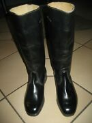 German Army Parade Boots, Leather Boots, Patent Leather,brandnew Size 5, Great