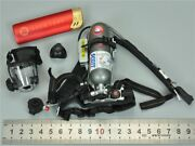 Air Pack System And Gas Mask Set For Dam 78050 Navy Commanding Officer 1/6 Scale